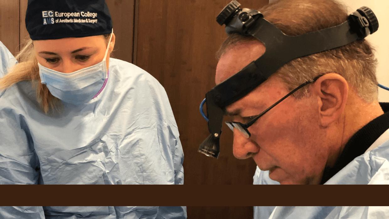 Management of blepharoplasty complication