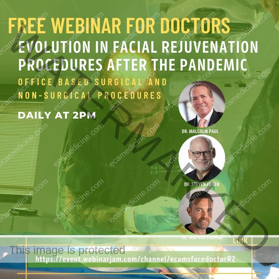 Evolution in facial rejuvenation