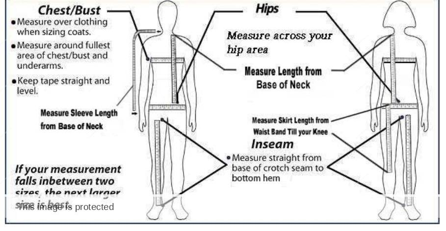 ecams scrub uniform size chart